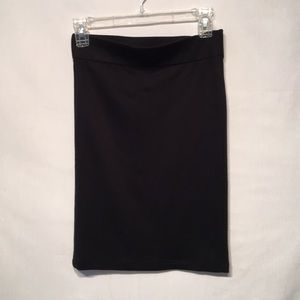 Madewell Black Pencil Skirt Size Small Like New